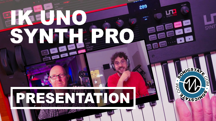 Presentation: Looking At The IK UNO Synth Pro