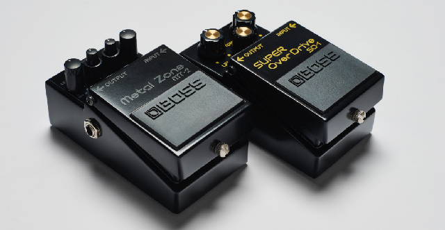 BOSS  Limited Edition Anniversary Pedals
