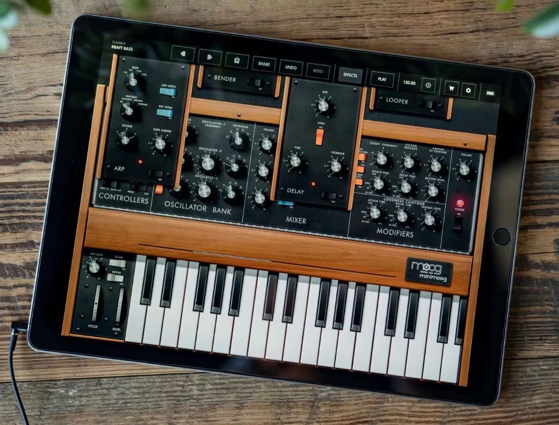 Free Moog Music iOS Apps