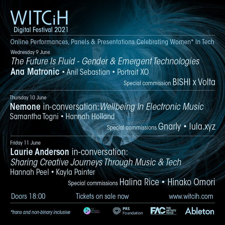 WITCiH Digital Festival 2021: 9-11 June