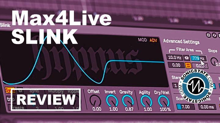 Sonic LAB: Hypnus Slink - Automated Max4Live Filterbank