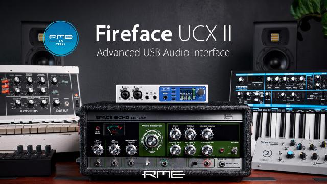 New RME USB Audio Interface