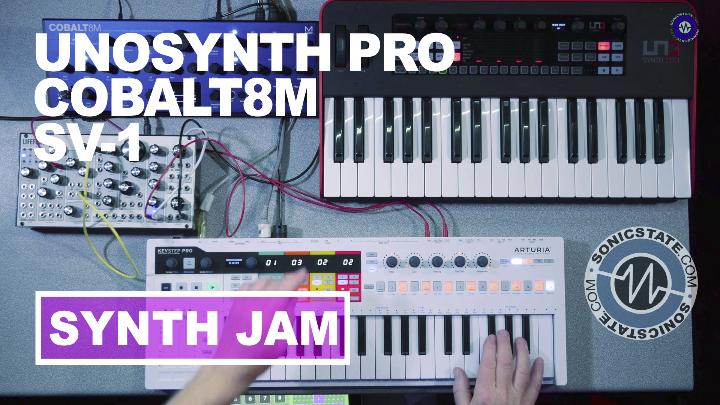 Friday Fun: Uno Synth Pro, Cobalt8 Pittsburgh SV-1
