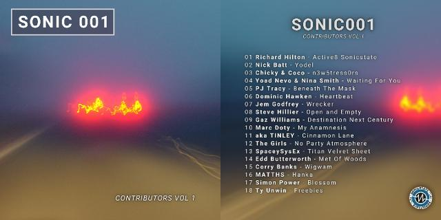 Out Today! SONIC 001 - 18 Tracks From Our Contributors