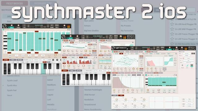 SynthMaster For Your iPad