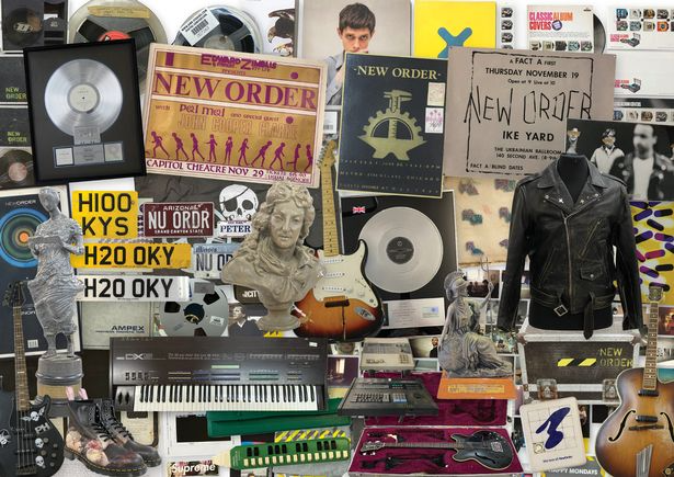 Peter Hook's New Order Exhibition And Auction