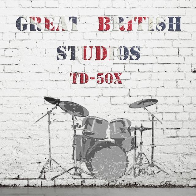 Sounds For Roland TD-50X V Drums