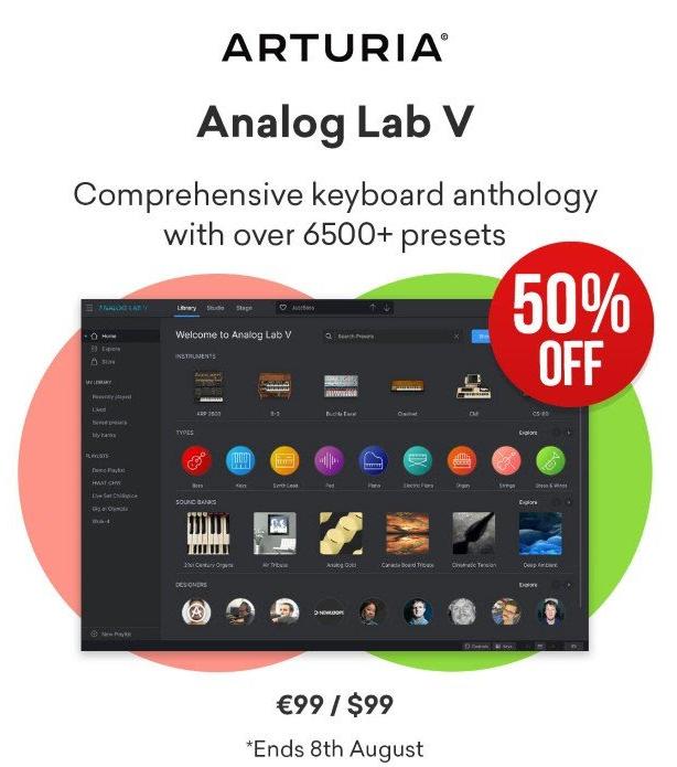 Analog LAB v 50% off
