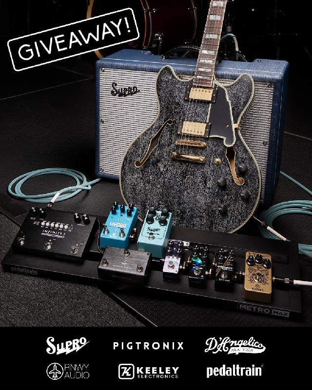 Pigtronix Gear Giveaway