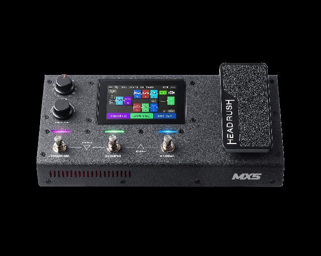 HeadRush Announces MX5 Amp & FX Modeller