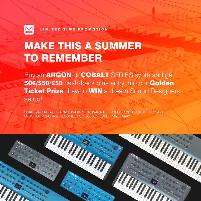 Modal Electronics Announce Summer Promotion