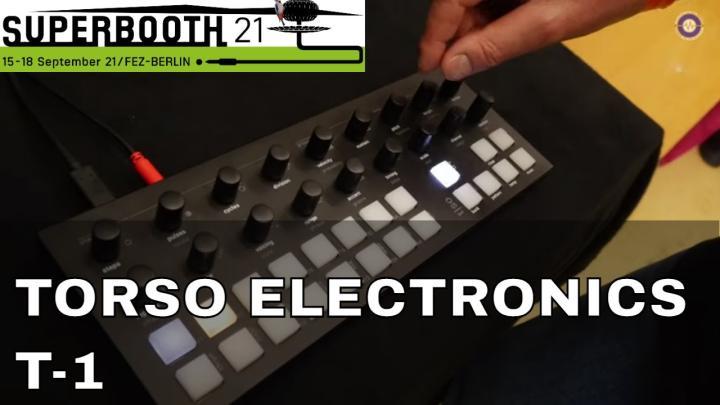 Superbooth 21: Torso Electronics T-1 Algorithmic Sequencer