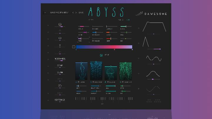 Tracktion Upgrades Abyss Synthesizer