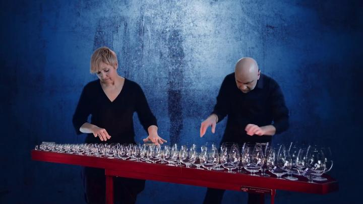 GlassDuo & The Glass Armonica: Making Music With Glass