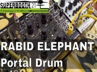 Superbooth 21: Rabid Elephant Portal Drum Updates