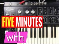 FIVE MINUTES WITH: Roland SH-1 Synth
