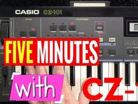 FIVE MINUTES WITH: Casio CZ-101 Phase Distortion Synth