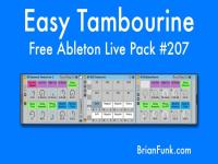 Free Easy Tambourine For Ableton Live