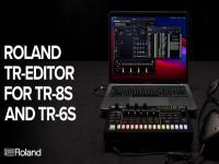 Roland Announces TR-EDITOR Software