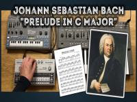 Bach Prelude in C Major on a Roland MC-202, SH-101, TR-606