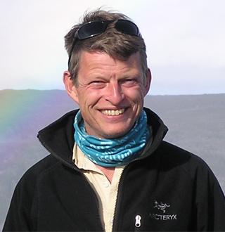 WWF conservationist Gert Polet