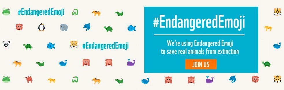 WWF Endangered Emojis