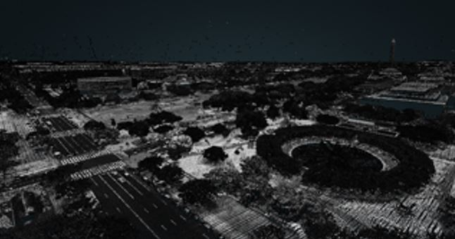LiDAR Data for Washington DC is Available as an AWS Public Dataset