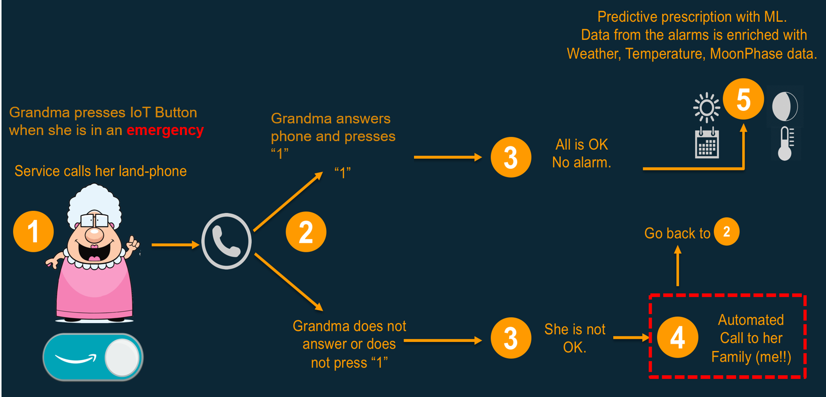 Grandma Emergency Button – A Simple Emergency Alert Solution ...