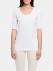 Cotton Modal Elbow Sleeve Tee