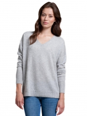 Essential Cashmere V Sweater