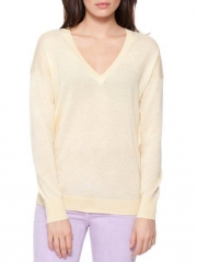 Superfine Cashmere V Neck