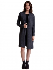 Cashmere Shawl Collar Duster