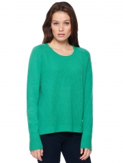 Cashmere Thermal Front U Neck
