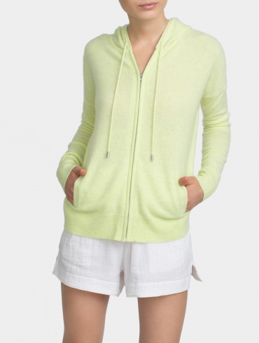 Essential Cashmere Zip Hoodie