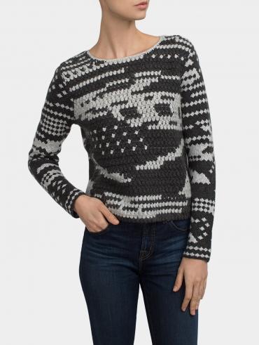 Hand Crochet Crewneck