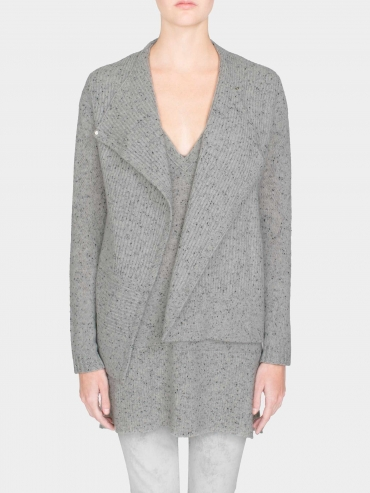 Cashmere Angular Shaker Jacket