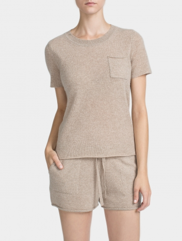 Cashmere Pocket Tee