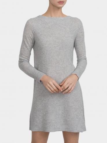 Cashmere Shaker Knit Dress