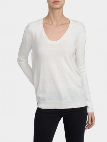 Essential Cotton Soft V Neck