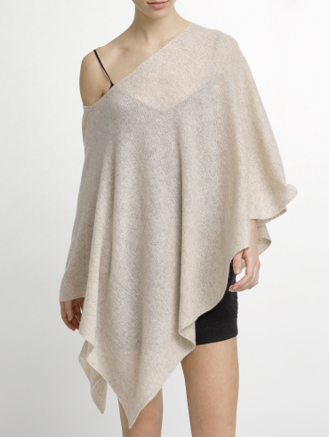 Cashmere Wave Poncho
