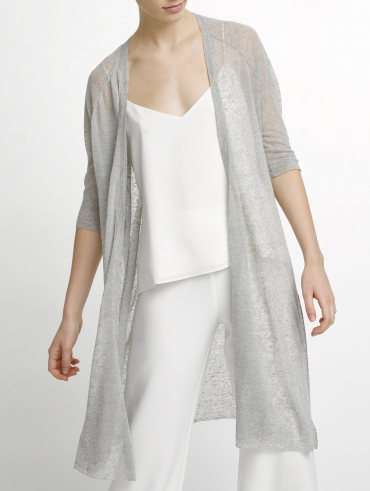 Featherweight Linen Cardigan