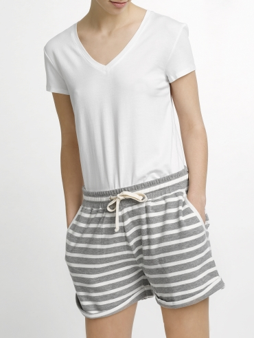 Combed Cotton Drawcord Short