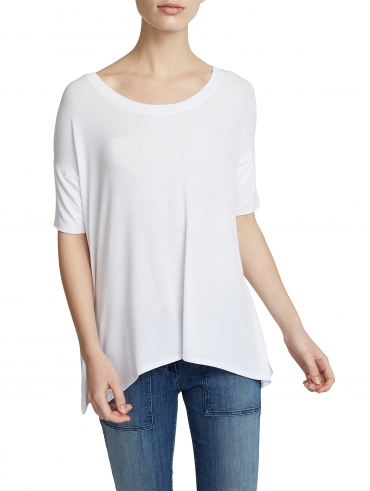 Rib Jersey Square Top
