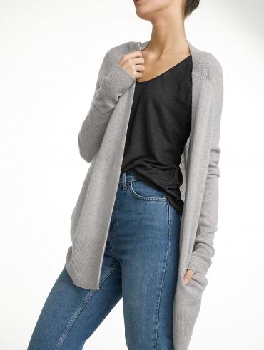 Cashmere Soft Pocket Cardigan