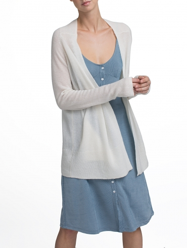 Cashmere Soft Pocket Cardigan