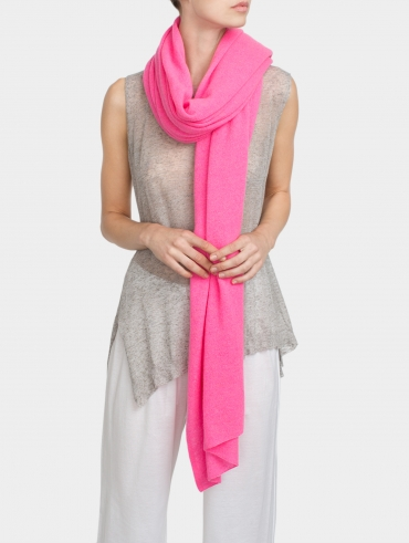 Spring Weight Cashmere Travel Wrap