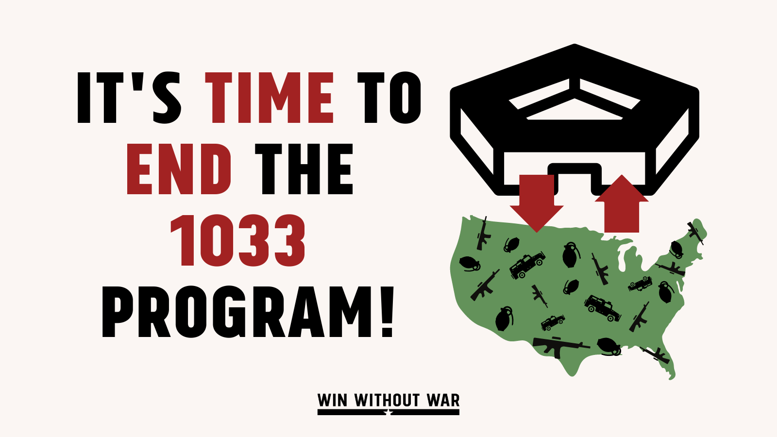 Congress: Stop Militarizing Our Communities!