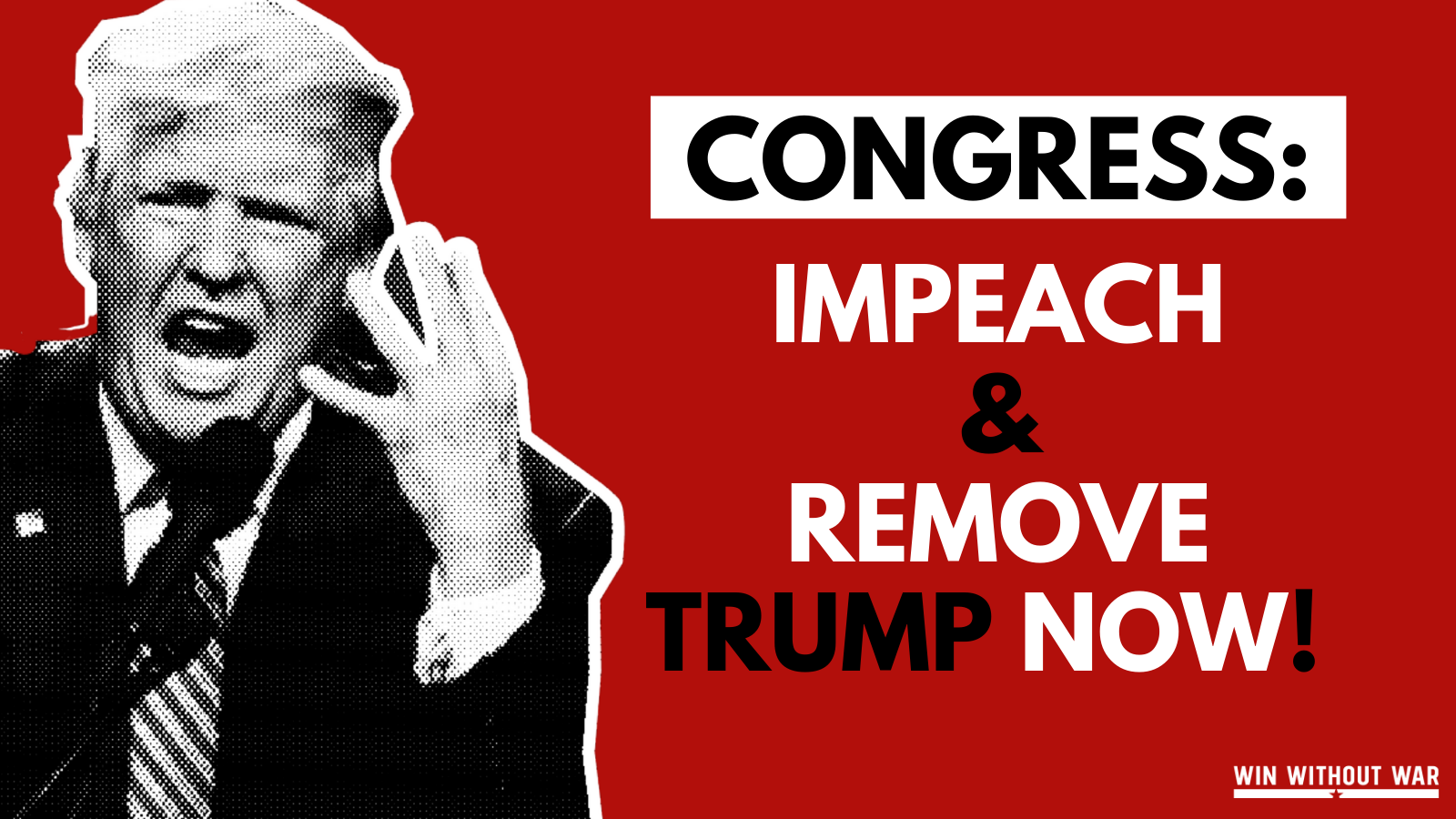Congress Must Impeach & Remove Donald Trump