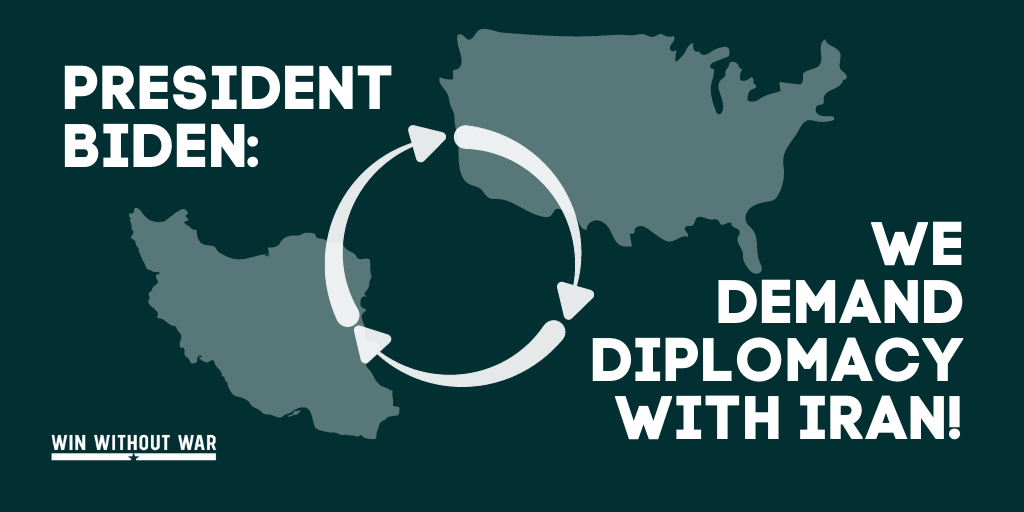 The PEOPLE demand diplomacy.