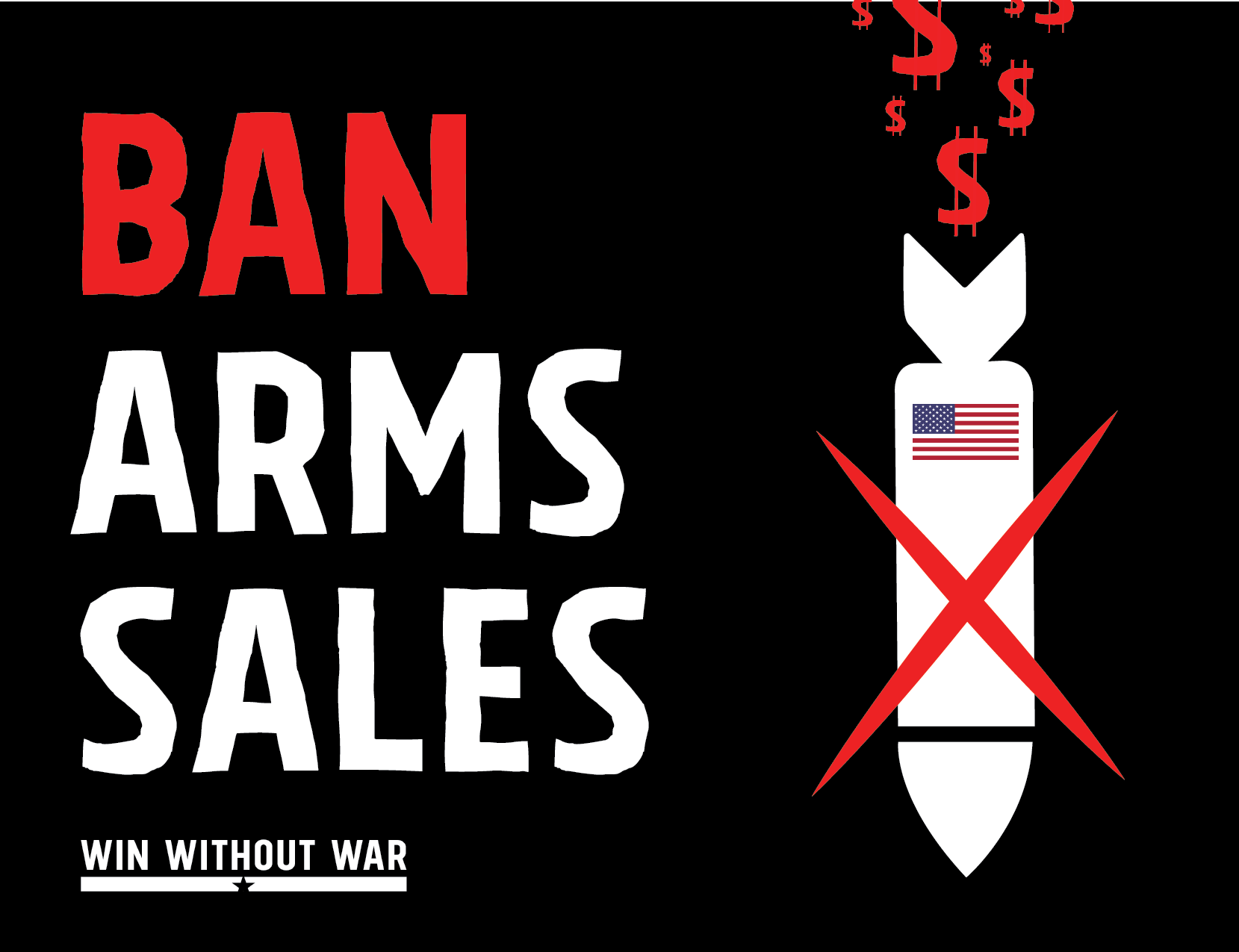 Dear Congress: Ban Arms Sales Now!